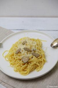 Spagetthi mit Trueffel und Parmesan