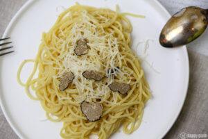 Spagetthi mit Trueffel und Parmesan und Butter