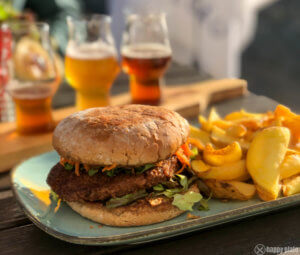 Food Pairing Bier Flight und Burger