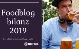 Foodblogbilanz 2019