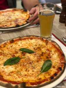 Pizza Margarita mit Witbier als perfektes Foodpairing