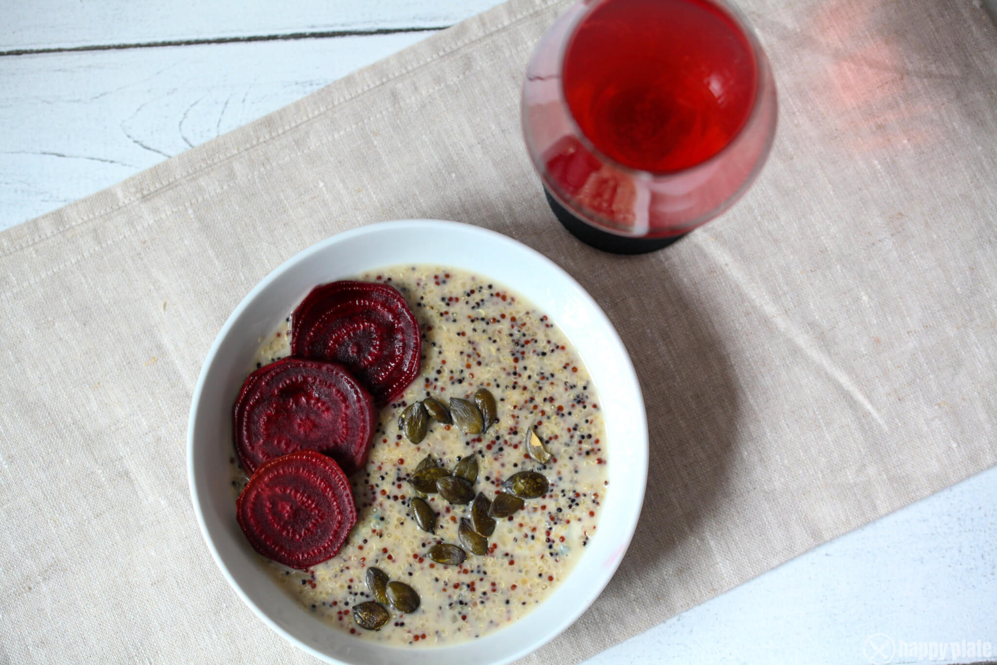 Quinoa Risotto mit Gorgonzola