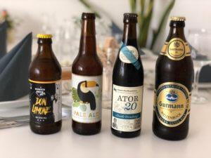 Auswahl der Biere des Supper Clubs in München