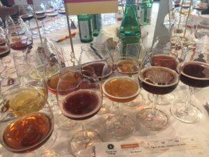 Biere zum Verkosten als Beer Judge