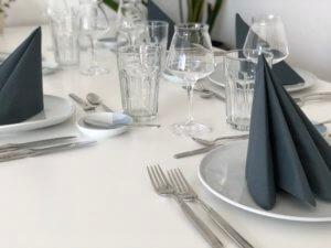 Gedeckter Tisch für den Supper Club in München