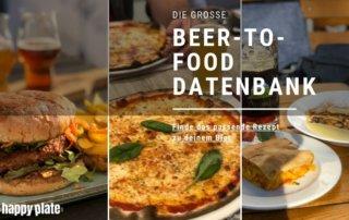 Beer-To-Food-Datenbank foodpairing mit Bier