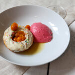 xDonut - Himbeermousse - Physalis Ragout