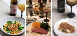 Januar - Menü für den happy plate lunch club zur Braukunst