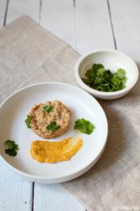 Tuna Tatar nach Lea Linster mit Wasabi Mayonnaise