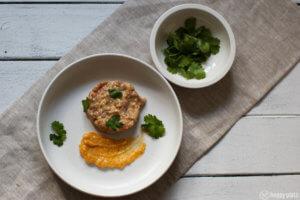 Thunfisch Tatar mit Wasabi Mayonnaise