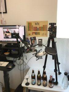 Aufbau einer digitalen Bierverkostung